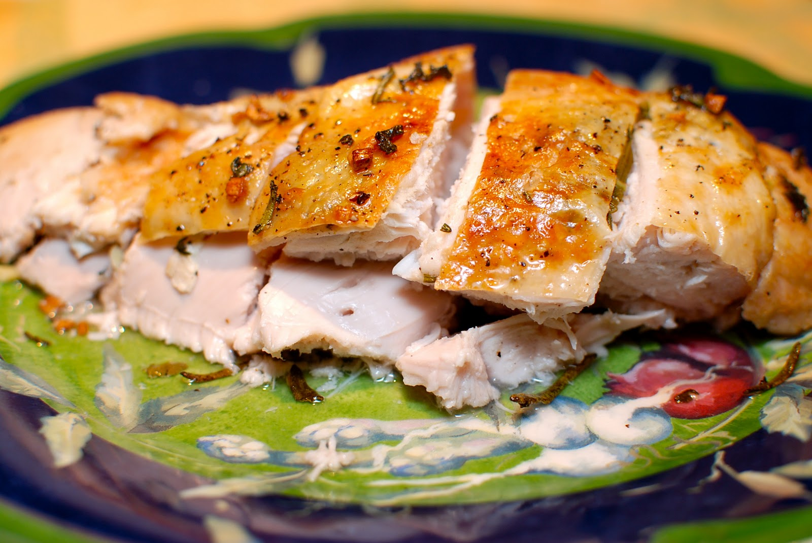 ... Turkey Two Ways Part I..'Turkey for Two: Herb-Roasted Turkey Breast