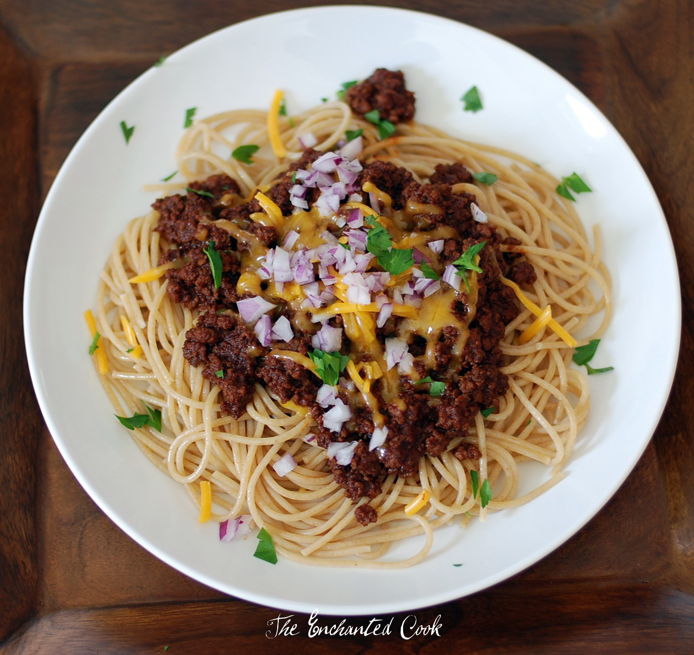 how to cook chili with spaghetti sauce
