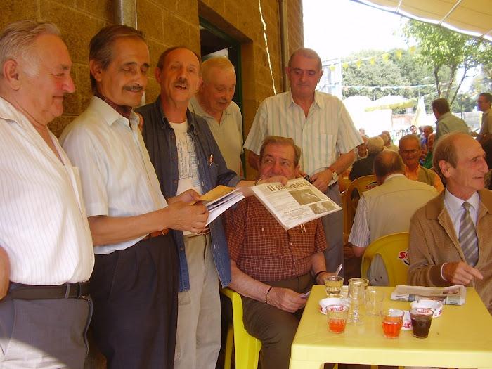 Arci abbiamo riincotrato Mario Orani il 20/06/2008