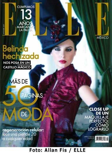Belinda en Elle Magazine
