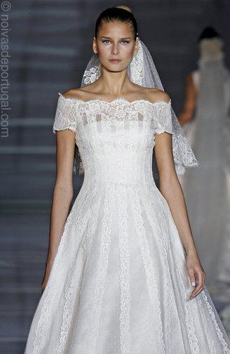 vestidos de noiva sereia. Evitar: cortes sereia, direito