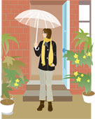 I love the Rain....