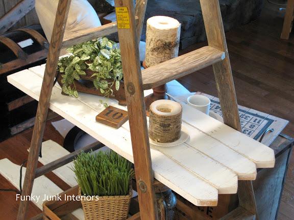 Self Made Pickets For Ladder Shelf
