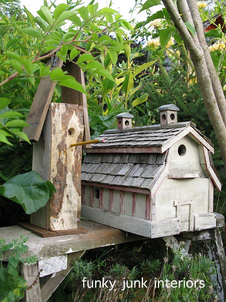 Diy Birdhouse A Funky Birdhouse Kid Diy Style Funky Junk Interiorsfunky Junk