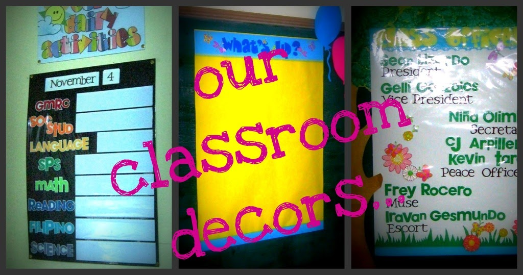 Classroom Officers Design ~ Scrapping and everything our room