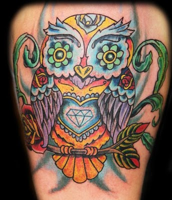 owly General patterns of animal tattoos