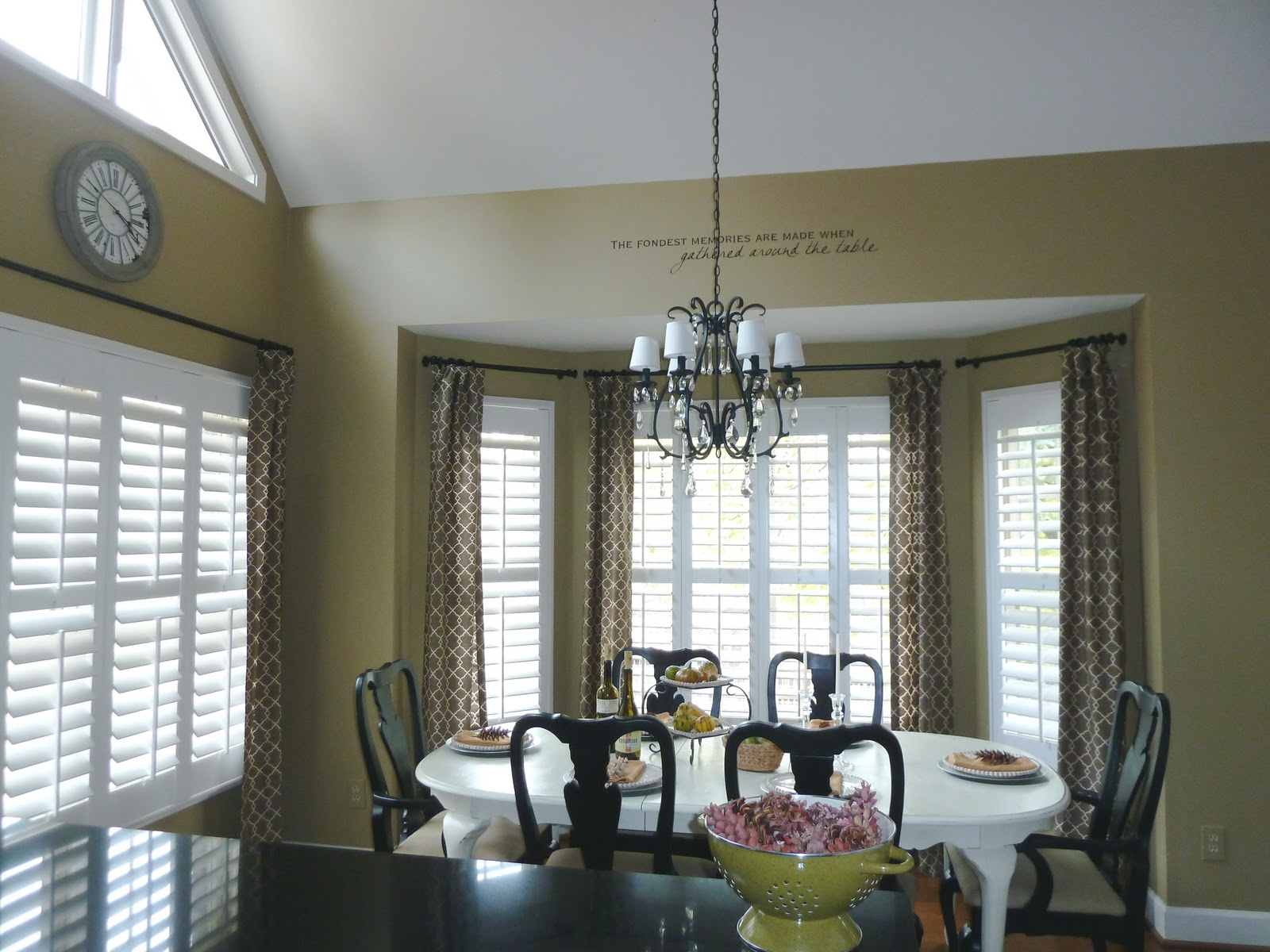 How to use window treatments and plantation shutter on for Window treatments with shutters
