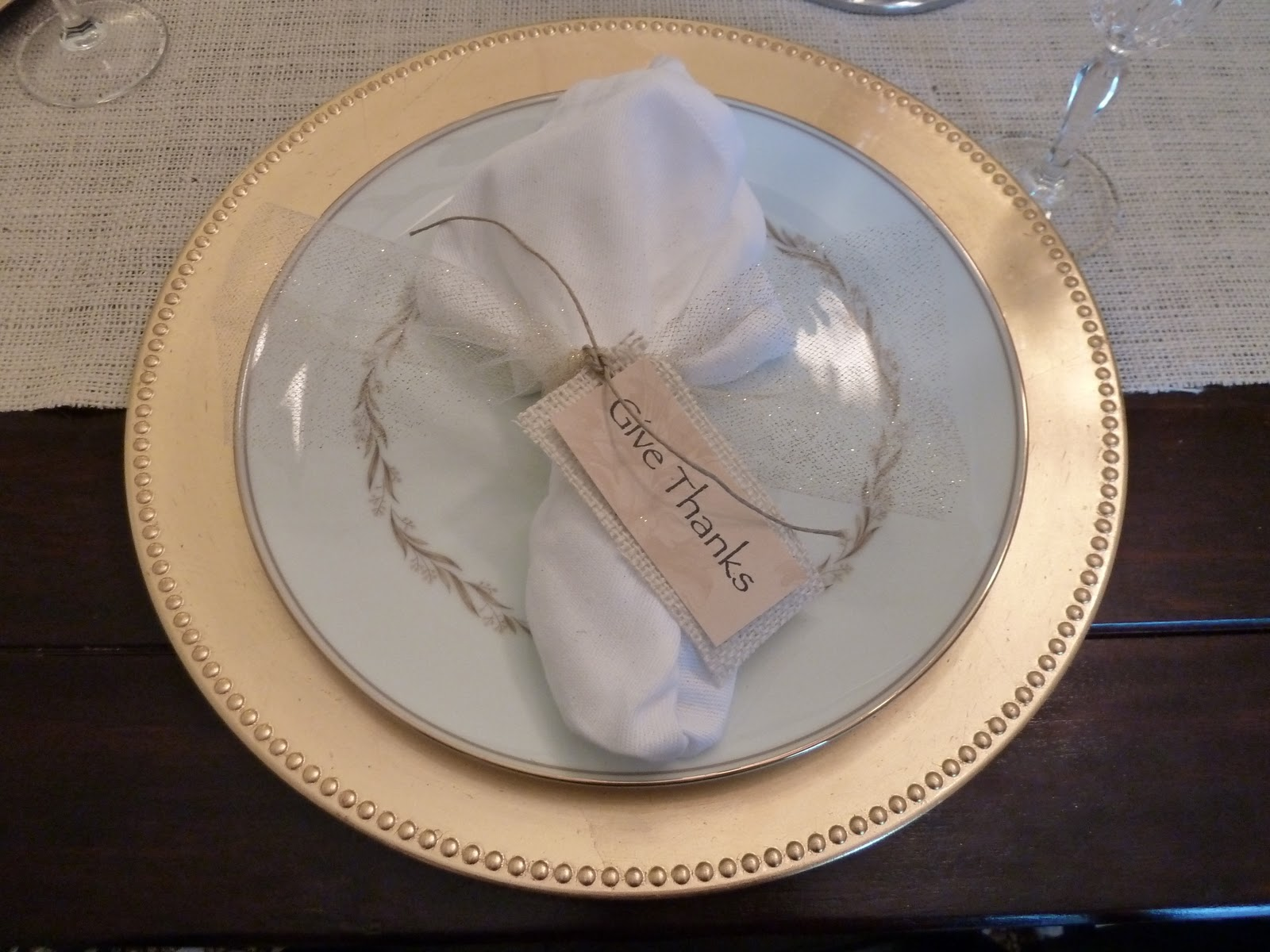 Our Fifth House: Thankful Tables