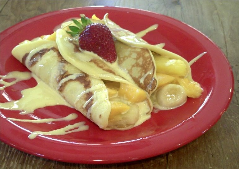 how to make mango crepe filipino style