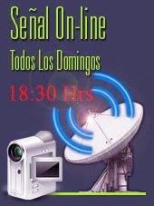Tv, Online de mensajes en Vivo desde Paraguay todos los Domingos