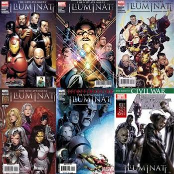 Marvel- Wald Disney  y los Illuminatis