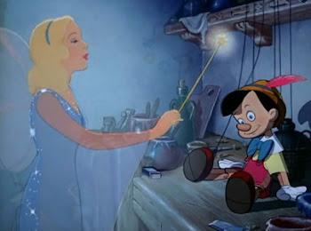 Pinocho y su iniciacion en  la masoneria