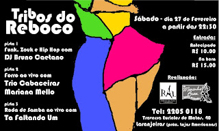 Rio @ http://www.mrzouk.com and http://www.zouklambada.com checkout the events page for more info