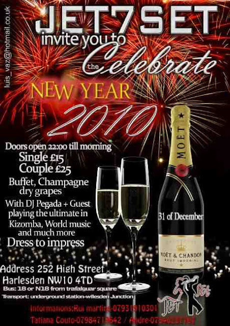 Jetset New Year Celebrations - Kizomba, Champagne and more