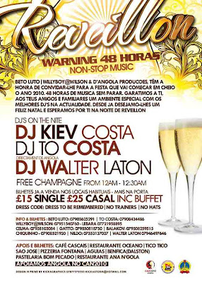 New Years Eve Non-Stop 48 hour Party - London