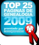 TOP 25 EM GENEALOGIA.