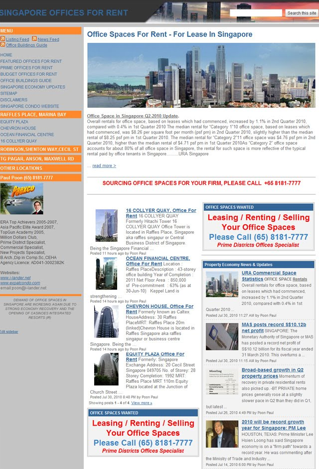 Singapore Property For Sale / Rent