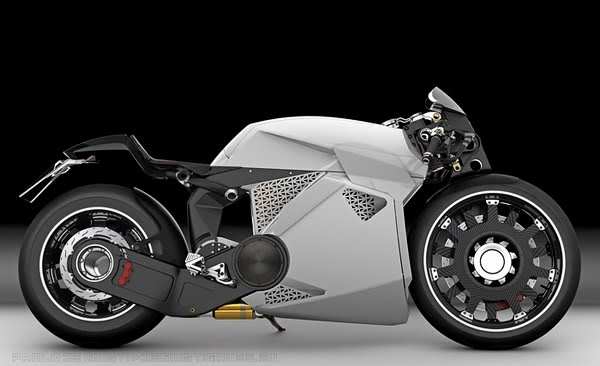 Innovative Electrical Motorcycle from Paolo De Giusti 3