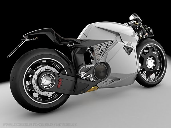 Innovative Electrical Motorcycle from Paolo De Giusti 1