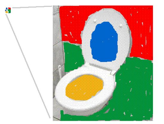 Google's favicon shortcut icon