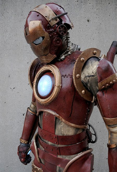Top 5 Coolest Halloween Costumes - Steampunk Iron Man