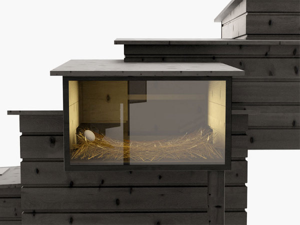 Very Artistic Hen House Design by Frederik Roije