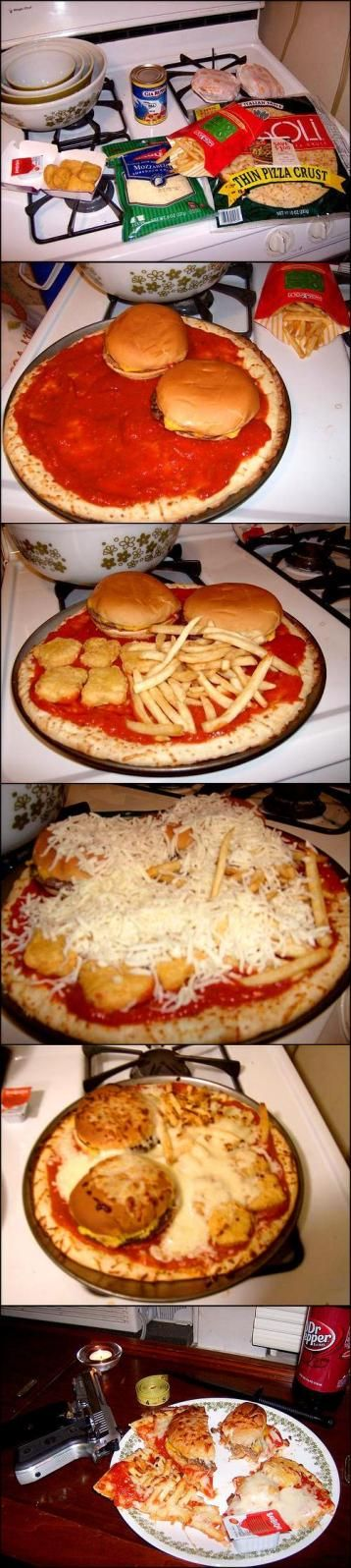 This Called Pizza Burger