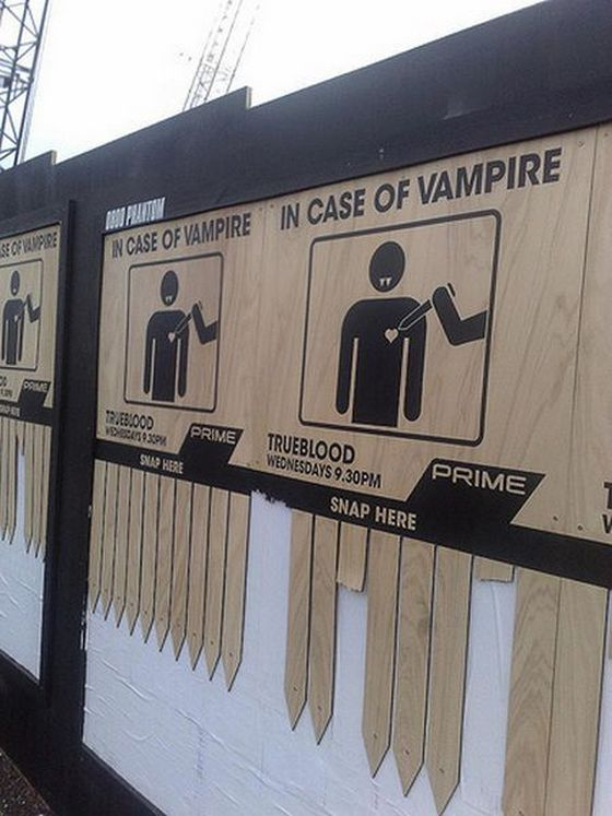 In Case Of Vampire - Trueblood Ads