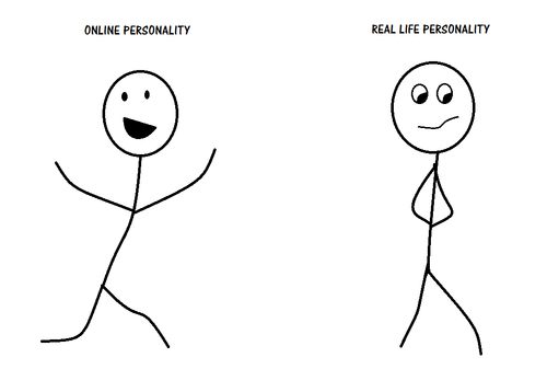 Online Personality - Real Life Personality