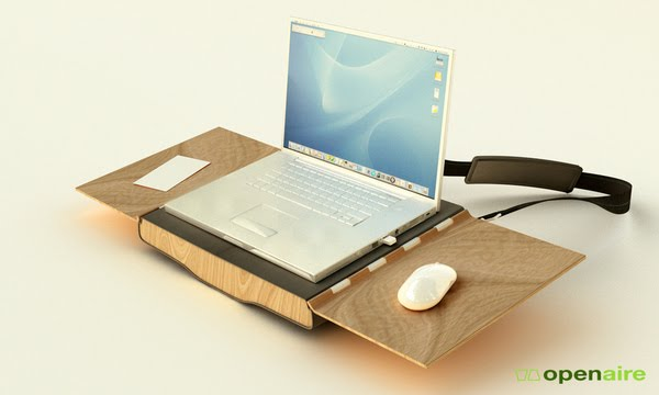 Openaire - Innovative Laptop Case  Workstation 2