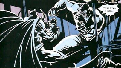 batman & bane, amor al primer sopapo
