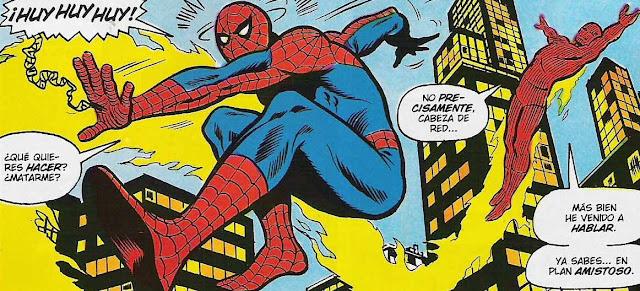 Spiderman & Antorcha Humana de paseo