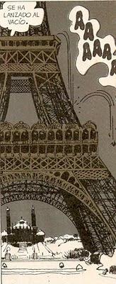 Muerte en la torre Eiffel