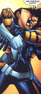 Wolverine apretándole las tuercas a una