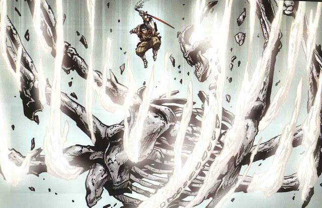 Wolverine asolando a su paso