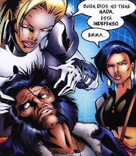 Wolverine con la mente en blanco