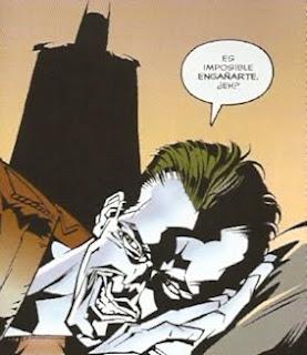 Batman despertando a Joker