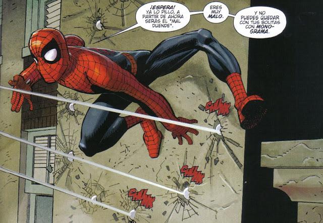 Spiderman y su increible sentido del humor