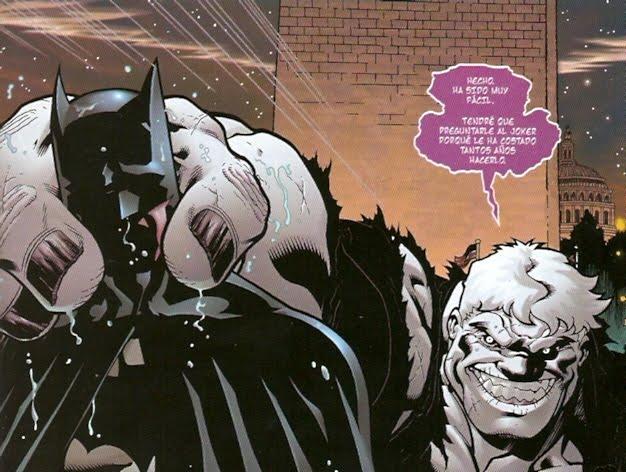 Batman hecho un giñapo