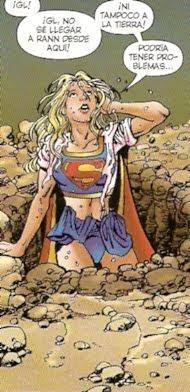 Supergirl algo despeinada