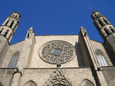 Santa Maria del Mar gothic church