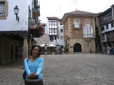 Gipuzkoa square in Hondarribi