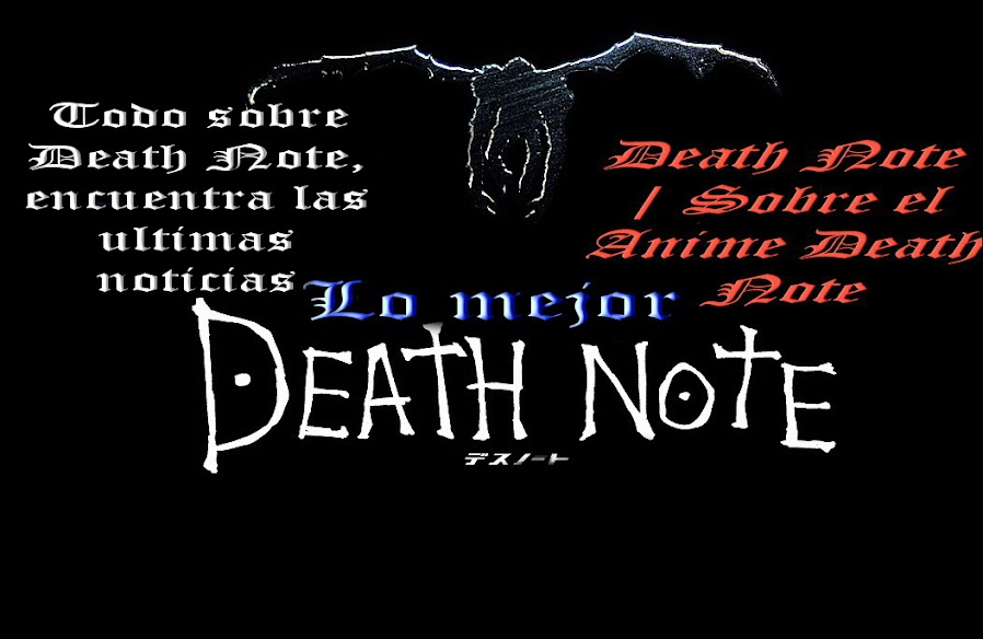 Death Note | Sobre el Anime Death Note