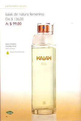 Natura perfumes Kaiak