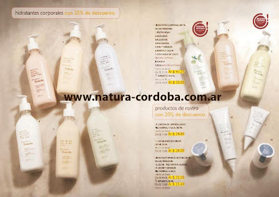 cremas hidratantes natura