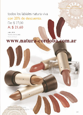 labiales natura maquillaje cordoba