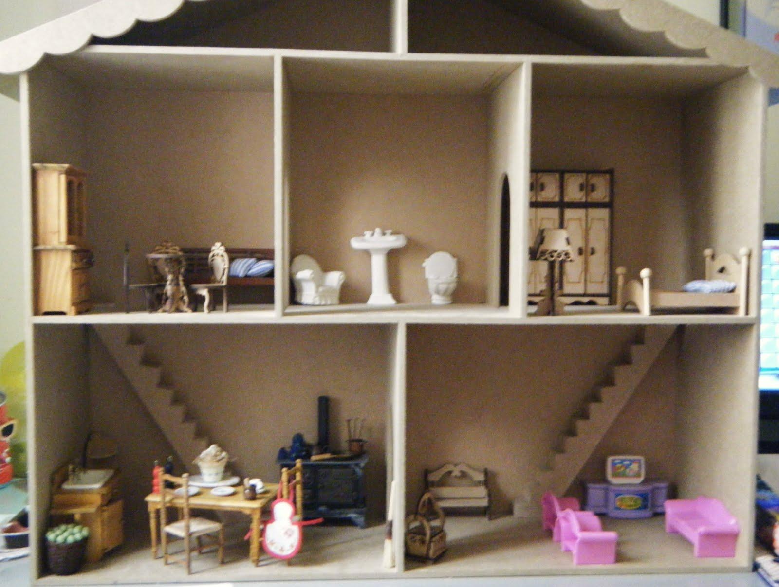 Vida Artesanato: Casinha de Bonecas que montei para a minha Malu #933884 1600x1207