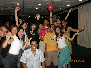 nus mba student activities freshers party 2008