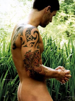 Celebrity  on Tribal Tattoos  Male Tattoo Pictures   A Great Way To Find Tattoo