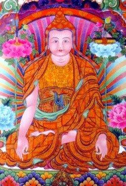 Longchenpa (séc. XIV), um dos maiores mestres espirituais de todo o Tibete
